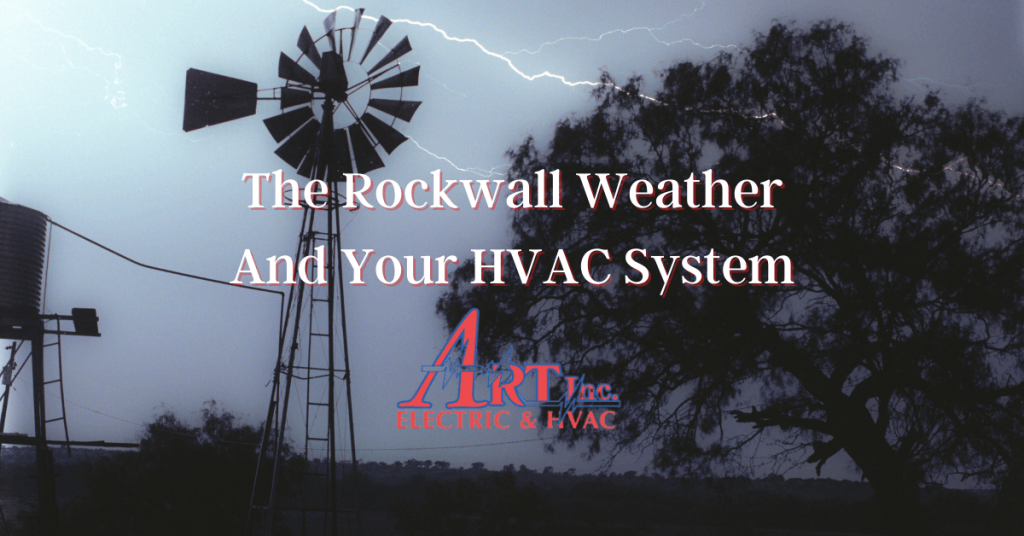 Rockwall Weather and Your Air Conditioning